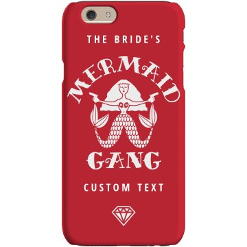 Custom The Bride's Mermaid Gang Cute Phone Case