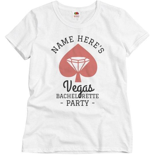 Custom Vegas Bachelorette Party