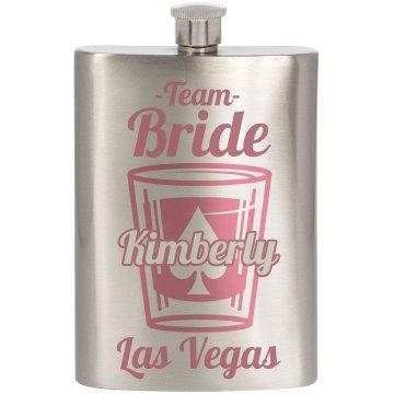 Custom Vegas Team Bride
