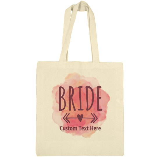 Custom Watercolor Bride