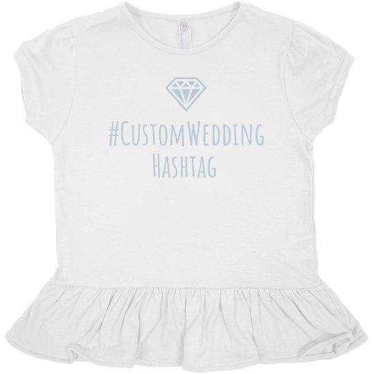 Custom Wedding Hashtag Designs