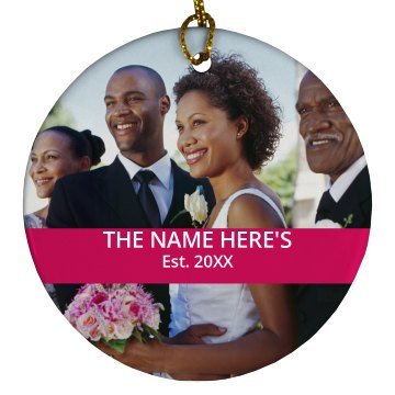 Custom Wedding Photo Design