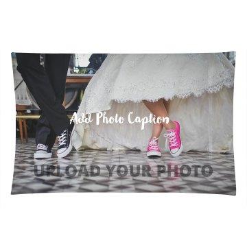 Custom Wedding Photo Pillowcase Gift