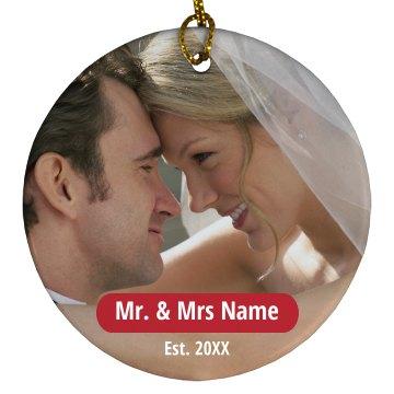 Custom Wedding Picture Gift