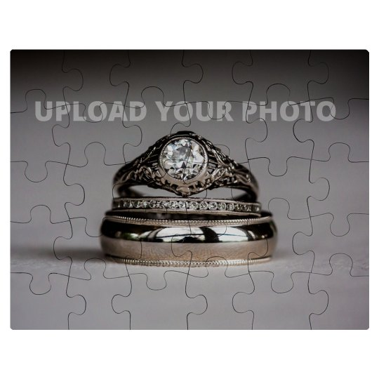 Custom Wedding Ring Photo Gift