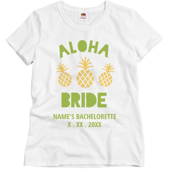 Customizable Aloha Bride Design