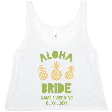 Customizable Aloha Bride