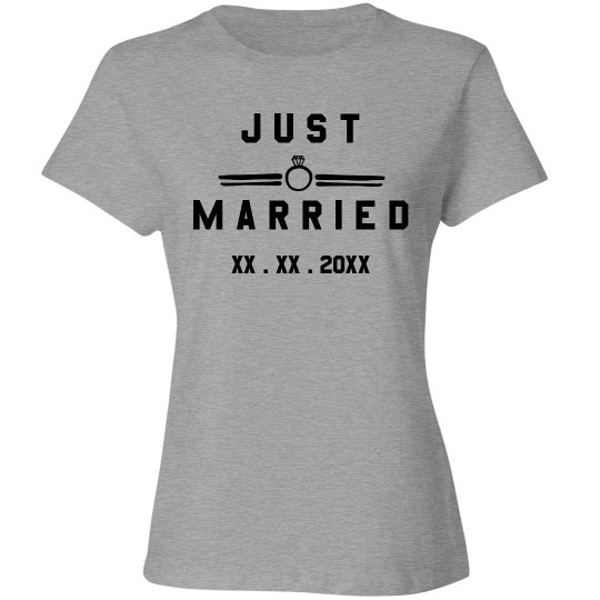 Customizable Just Married