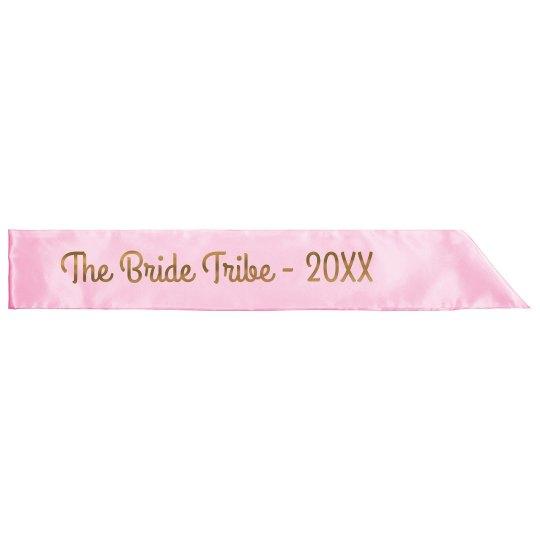 Customizable Metallic Bride Tribe