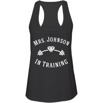 Customizable Mrs. Workout Tank