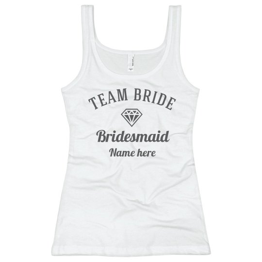 Customizable Team Bride Design