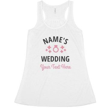 Customizable Wedding Ring Design