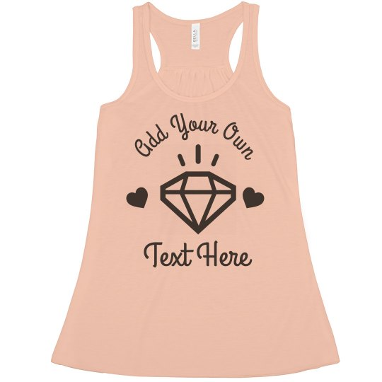 Customize Your Own Wedding Tank