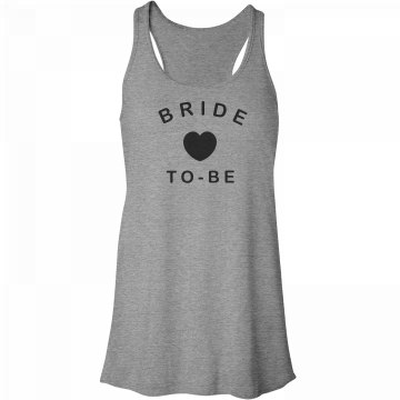 Cute Bride-To-Be Relaxed Tank