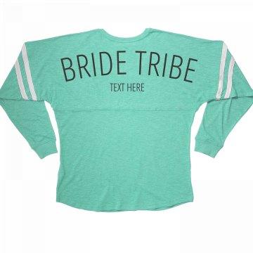 Cute Custom Bride Tribe Matching Bachelorette Party