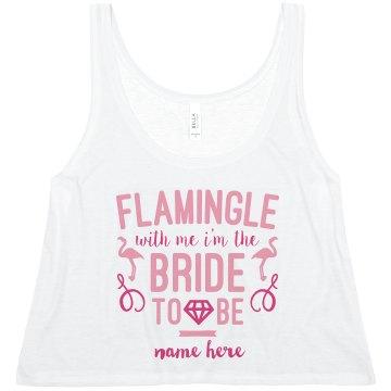 Cute Custom Flamingle Bride