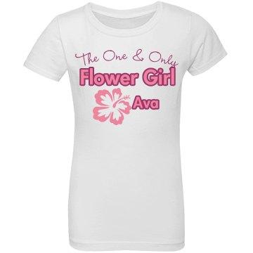 Cute Flower Girl Ava