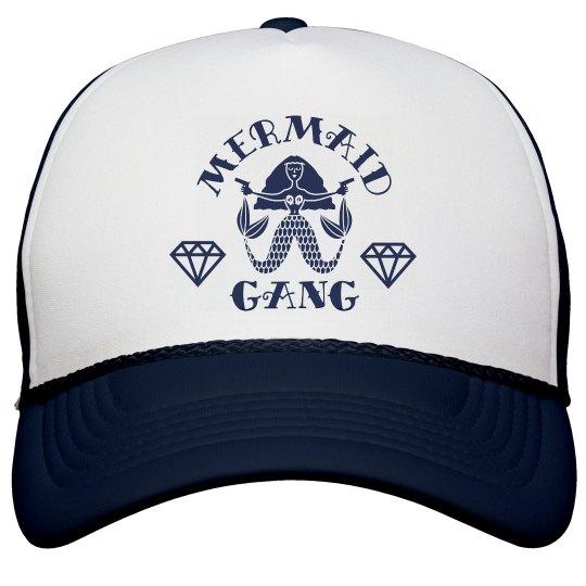 Cute Mermaid Gang Bachelorette Beach Hats