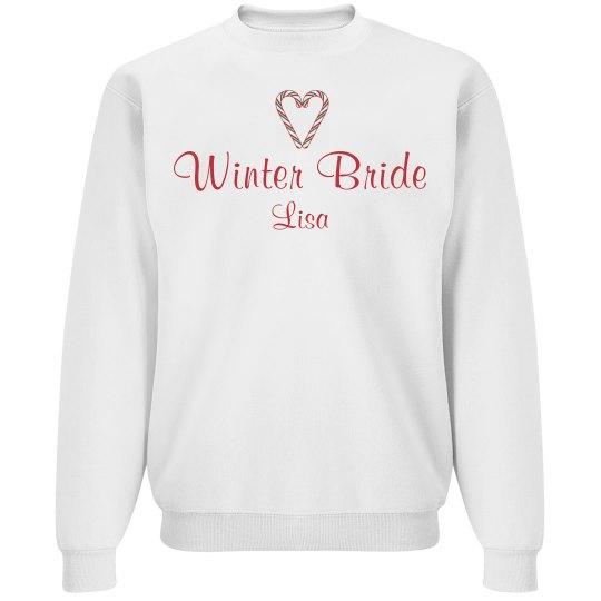 Cute Winter Bride