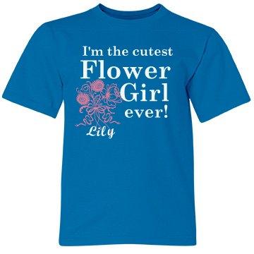 Cutest Flower Girl Tank