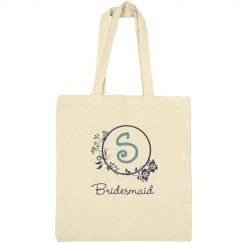 Bridesmaid's Initial Tote