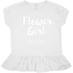 Cute Custom Trendy Flower Girl