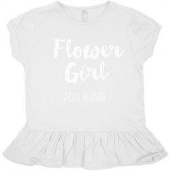 Cute Custom Trendy Flower Girl