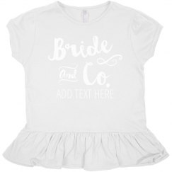 Bride And Company Flower Girl