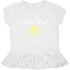 Custom Toddler Petal Patrol