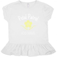 Custom Toddler Petal Patrol