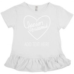 Custom Heart Junior Bridesmaid