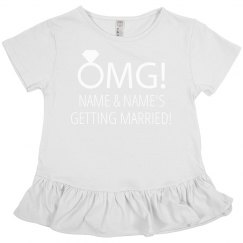 OMG Getting Married Shirt