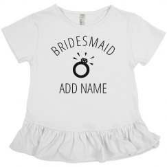 Custom Jr Bridesmaid Ring