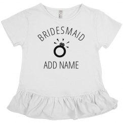 Custom Jr Bridesmaid Ring