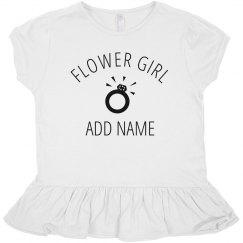 Custom Bridal Flower Girl