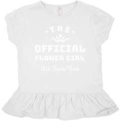 Official Flower Girl