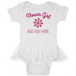 Custom Tutu Flower Girl