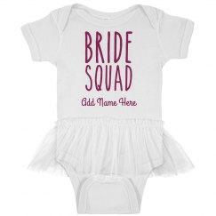 Custom Bride Squad Baby