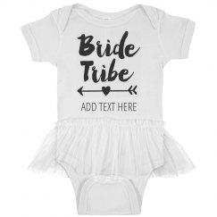 Bride Tribe Flower Girl