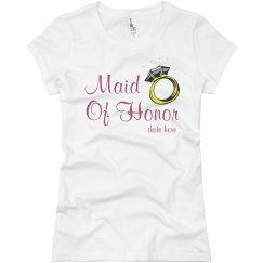 Maid Of Honor Tee
