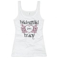 Tracy Heart Bridesmaid