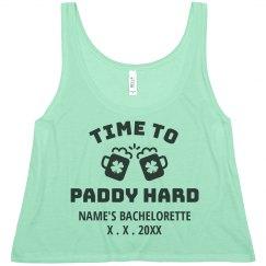 Custom St. Patrick's Paddy Hard