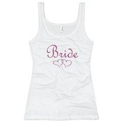 Classic Bride Two Hearts