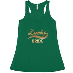 Lucky Irish Bride Tank Top