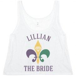 Mardi Gras Bride