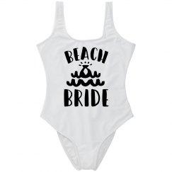 Beach Bride Bachelorette Swimsuit