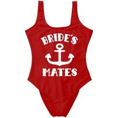 Bride's Mates Nautical Bachelorette