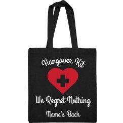 We Regret Nothing Hangover Kit