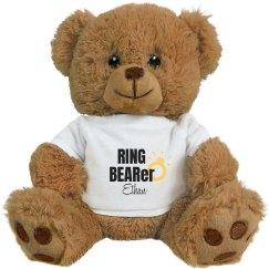 Ring Bearer Stuffed Bear
