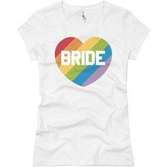 Gay Pride Bride